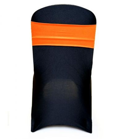 Orange Lycra Chair Band