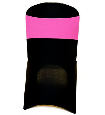 Fluro Pink Lycra Chair Band