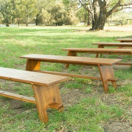 Timber Bench Seat