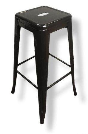 Bar Stool - Black Tolix