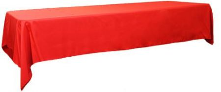 Red 3m x 1.45 Trestle cloth