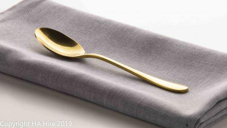 Gold Desert Spoon