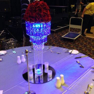 Crystal Chandelier Lamp shade various stands available