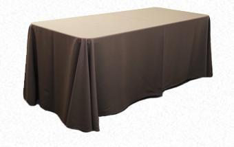 Chocolate Brown 3.3m x 2.1m Trestle cloth