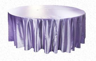 Lilac Lavender Satin