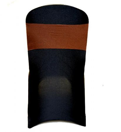 Chocolate Brown Lycra Chair Band