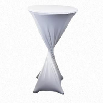 White Lycra Highbar cover