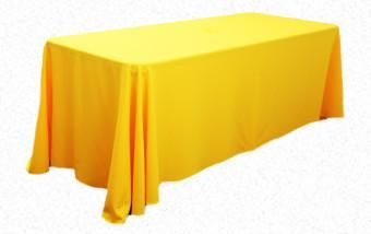 Yellow 3.3m x 2.1m Trestle cloth