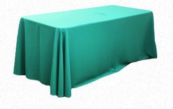 Christmas Green 3.3m x 2.1m Trestle cloth