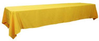 Yellow 3m x 1.45 Trestle cloth