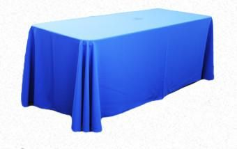 Royal Blue 3.3m x 2.1m Trestle cloth