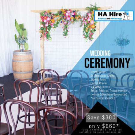 Rustic Wedding Ceremony Feb 2019 Special