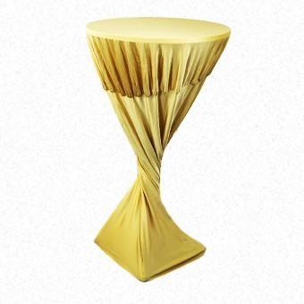 Gold Lycra Highbar cover