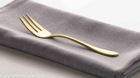 Gold Cake Fork