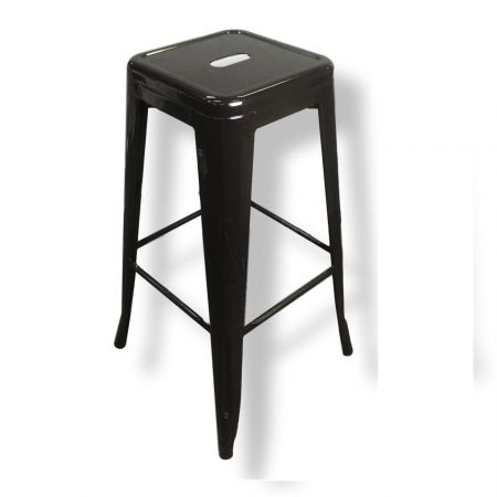 Bar Stool - Black Tolix