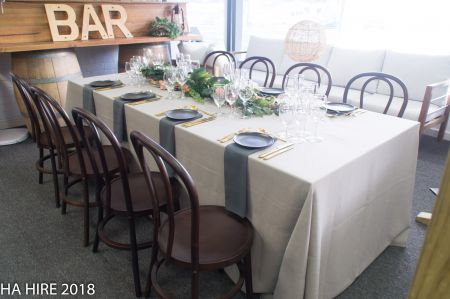 Rustic Linen Table Package