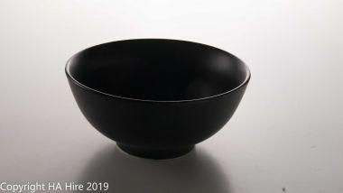 Matte Black Desert Bowl