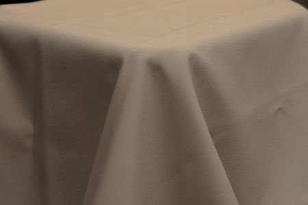3.9m x 2.6m Taupe BANQUET Cloth