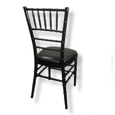 Black Tiffany with Black Cushion