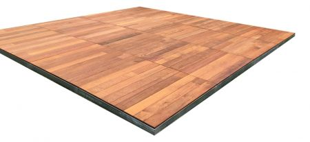 Outdoor Timber Dance Floor