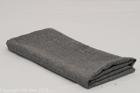 Charcoal Linen Look Napkin