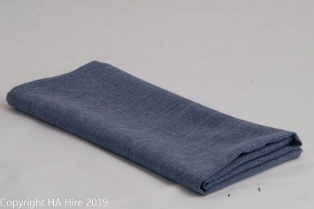 Chambray Blue Linen Look Napkin