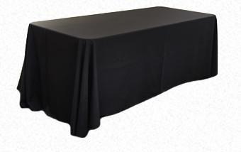 Black 3.3m x 2.1m Trestle cloth