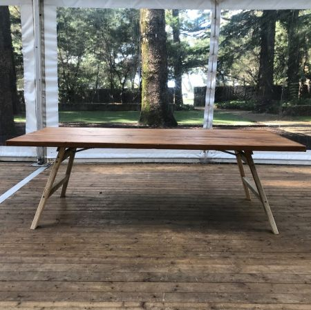 Timber Farmhouse Table - 2.4m x 1m