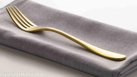 Gold Dinner Fork