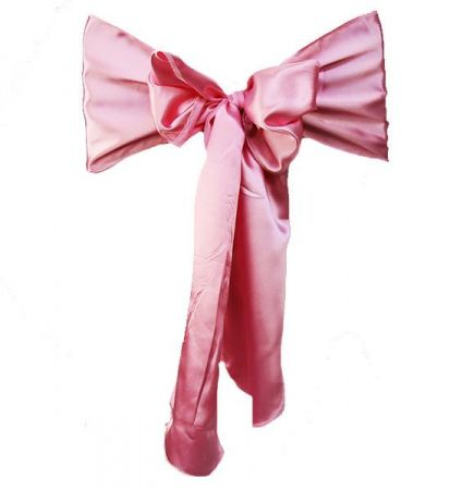 Pink RE Satin Sash