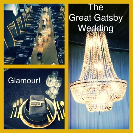 The Great Gatsby Long Table