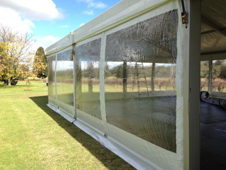Clear Marquee Windows