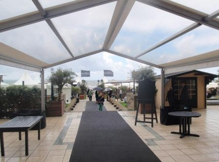 6 X 21m Marquees