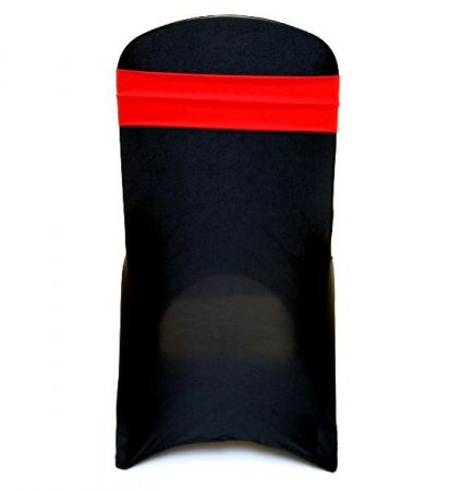 Red Lycra Chair Band