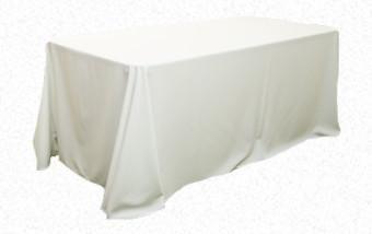 Cream 3.3m x 2.1m Trestle cloth