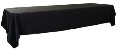 Black 3m x 1.45 Trestle cloth
