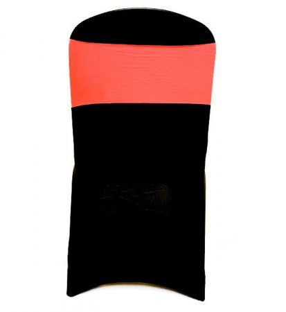 Fluro Orange Lycra Chair Band