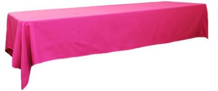 Hot Pink  3m x 1.45 Trestle cloth