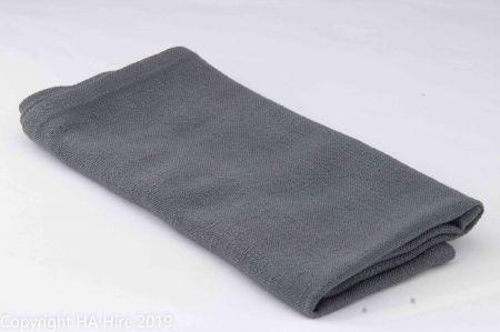 Charcoal  Natural Linen look Napkin