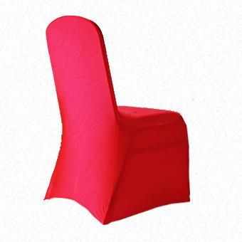 Fluro Orange Lycra  chair cover