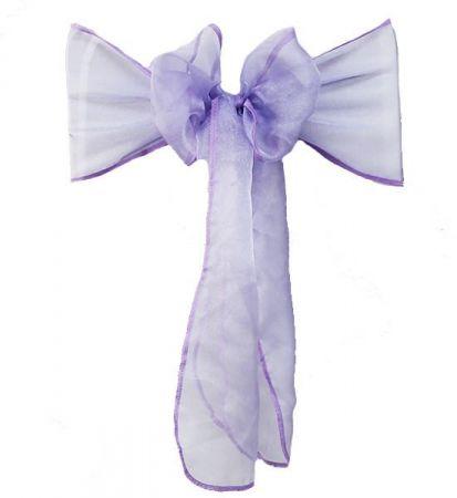 Lilac RE Organza Sash