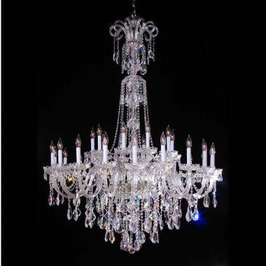 Royal Crystal Chandelier - 1.5m High