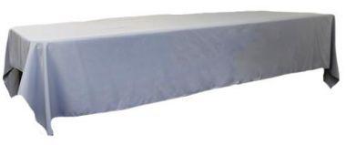 Silver 3m x 1.45 Trestle cloth