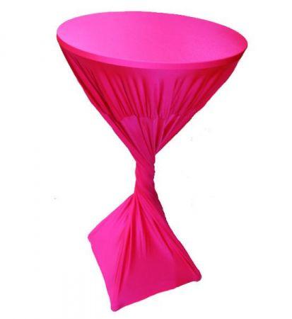 Fluro Pink Lycra Highbar cover